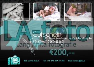 Gutschein für Newborn-Shooting