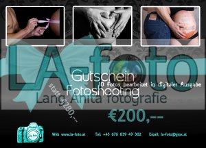 Gutschein für Babybauch-Shooting